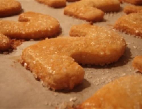 Sprøde fødselsdags-småkager ca. 50 stk personer